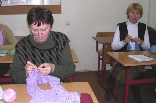 Курсы вязания. вязание крючком и на спицах лучший вид рукоде.